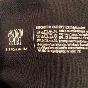 Victoria's Secret Pants & Jumpsuits - Victoria's Secret Black and White Leggings